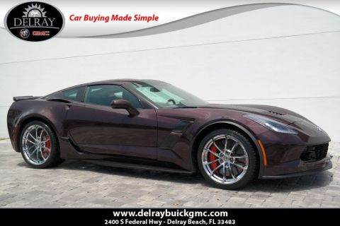 Certified Pre-Owned 2017 Chevrolet Corvette Grand Sport 3LT RWD 2dr Car