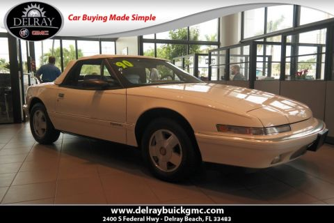 Pre-Owned 1990 Buick Reatta Leather