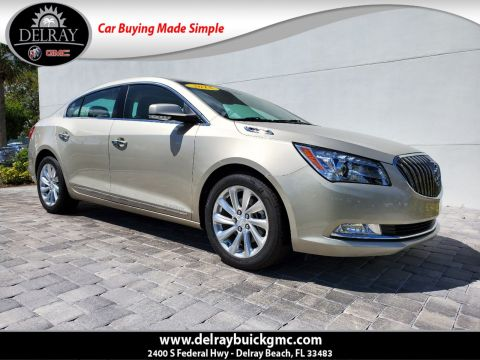 Pre-Owned 2015 Buick LaCrosse Leather Group With Navigation