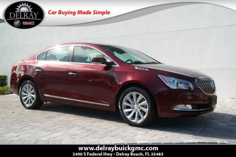 Pre-Owned 2016 Buick LaCrosse Leather Group With Navigation
