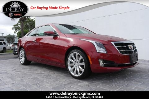 Pre-Owned 2018 Cadillac ATS 2.0L Turbo Luxury With Navigation & AWD