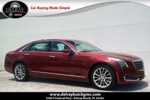 Pre-Owned 2017 Cadillac CT6 Premium Luxury AWD AWD