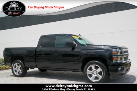 Certified Pre-Owned 2015 Chevrolet Silverado 1500 LT