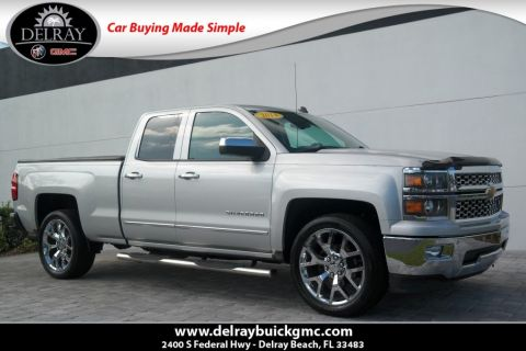 Pre-Owned 2014 Chevrolet Silverado 1500 LTZ With Navigation