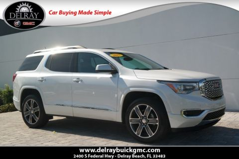 Certified Pre-Owned 2017 GMC Acadia Denali With Navigation