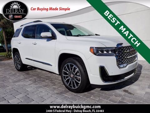 Pre-Owned 2020 GMC Acadia Denali With Navigation