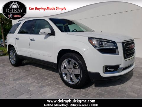 Pre-Owned 2017 GMC Acadia Limited Limited With Navigation