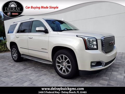 Pre-Owned 2015 GMC Yukon Denali With Navigation