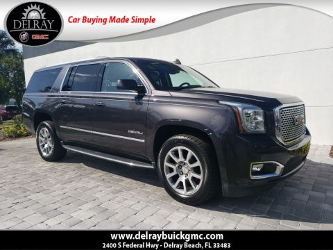 Pre-Owned 2017 GMC Yukon XL Denali With Navigation
