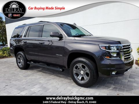Pre-Owned 2016 Chevrolet Tahoe LT With Navigation & 4WD