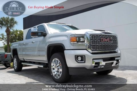 New 2019 GMC Sierra 2500HD Denali With Navigation & 4WD