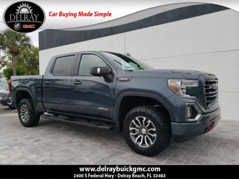 Pre-Owned 2019 GMC Sierra 1500 AT4 With Navigation & 4WD