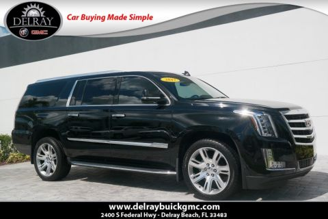 Pre-Owned 2017 Cadillac Escalade ESV Premium With Navigation