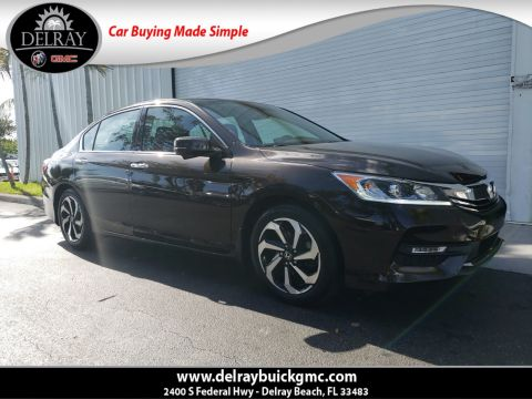 Pre-Owned 2017 Honda Accord EX-L With Navigation