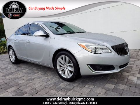 Pre-Owned 2016 Buick Regal Turbo