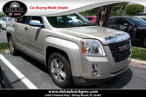Certified Pre-Owned 2015 GMC Terrain SLE With Navigation