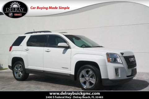 Pre-Owned 2015 GMC Terrain SLT With Navigation