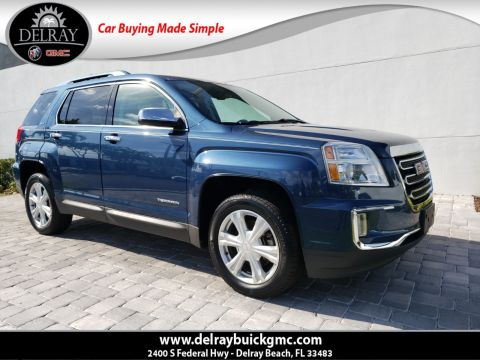 Pre-Owned 2017 GMC Terrain SLT With Navigation & AWD