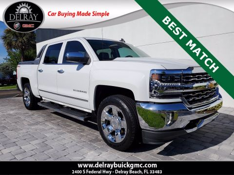 Pre-Owned 2017 Chevrolet Silverado 1500 LTZ With Navigation & 4WD