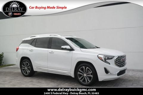 Certified Pre-Owned 2019 GMC Terrain Denali
