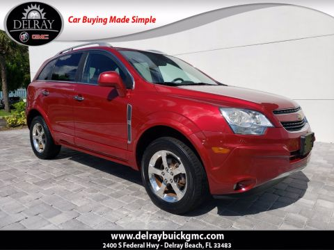 Pre-Owned 2012 Chevrolet Captiva Sport LTZ AWD
