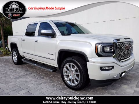 Pre-Owned 2018 GMC Sierra 1500 Denali With Navigation