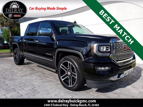 Pre-Owned 2017 GMC Sierra 1500 Denali With Navigation