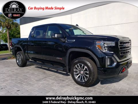 Certified Pre-Owned 2019 GMC Sierra 1500 AT4 With Navigation & 4WD