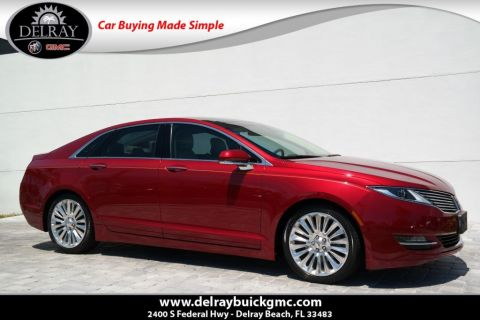 Pre-Owned 2013 Lincoln MKZ Tech AWD