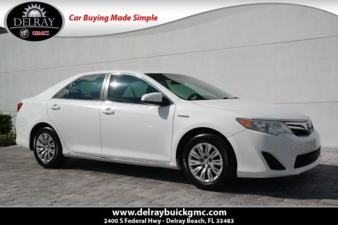 Pre-Owned 2013 Toyota Camry Hybrid LE FWD 4D Sedan