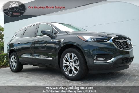 New 2019 Buick Enclave Avenir With Navigation