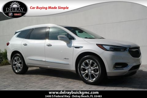 Pre-Owned 2018 Buick Enclave Avenir With Navigation