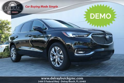 New 2020 Buick Enclave Avenir With Navigation