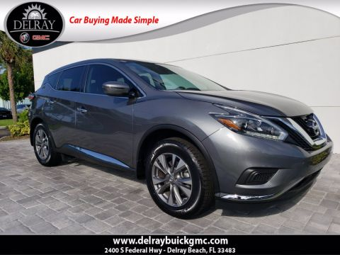 Pre-Owned 2018 Nissan Murano SL With Navigation