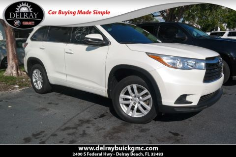 Pre-Owned 2015 Toyota Highlander LE FWD 4D Sport Utility