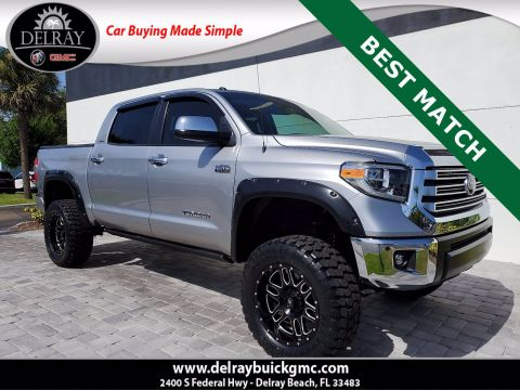 Pre-Owned 2018 Toyota Tundra Limited With Navigation & 4WD