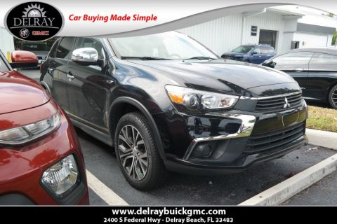 Pre-Owned 2017 Mitsubishi Outlander Sport ES FWD 4D Sport Utility
