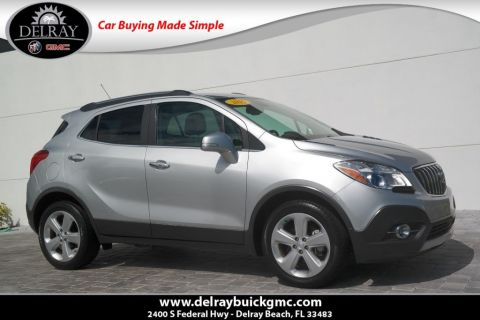 Certified Pre-Owned 2015 Buick Encore Leather With Navigation