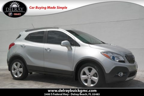 Pre-Owned 2016 Buick Encore Leather With Navigation