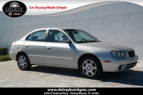 Pre-Owned 2003 Hyundai Elantra GLS FWD 4D Sedan