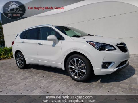 New 2020 Buick Envision Essence FWD 4D Sport Utility