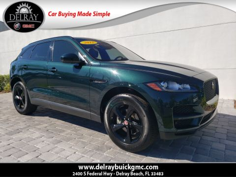 Pre-Owned 2018 Jaguar F-PACE 20d Premium With Navigation & AWD