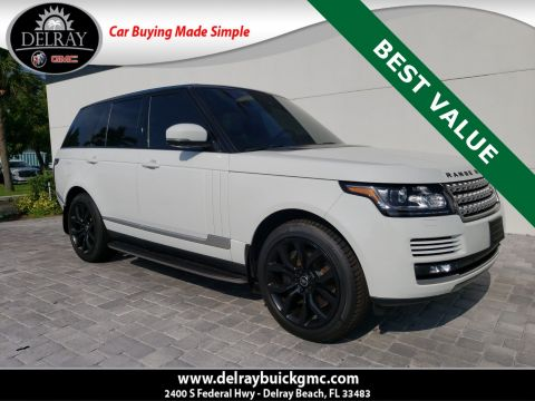 Pre-Owned 2014 Land Rover Range Rover 5.0L V8 Supercharged With Navigation & 4WD