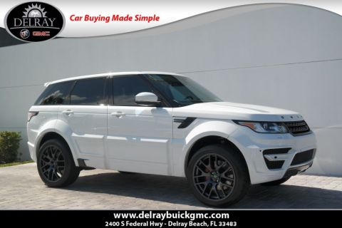 Pre-Owned 2015 Land Rover Range Rover Sport Supercharged With Navigation & 4WD
