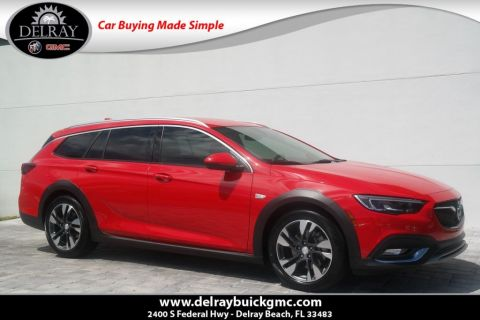 Certified Pre-Owned 2018 Buick Regal TourX Preferred AWD
