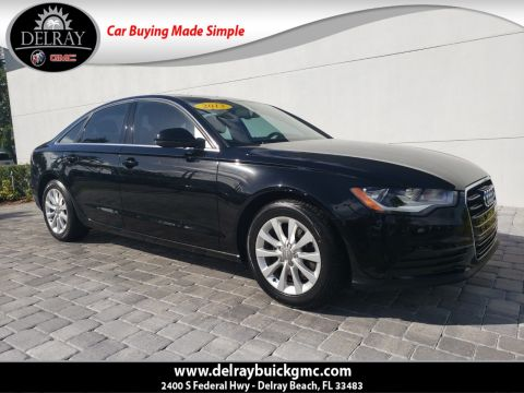 Pre-Owned 2013 Audi A6 2.0T Premium With Navigation