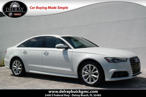Pre-Owned 2017 Audi A6 2.0T Premium Plus With Navigation