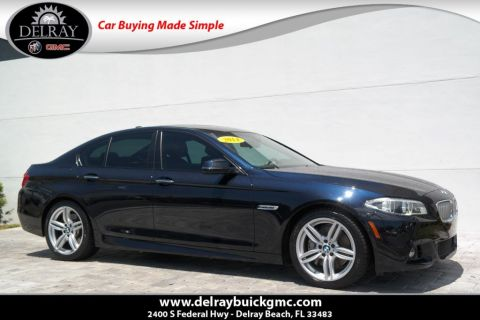 Pre-Owned 2014 BMW 5 Series 550i With Navigation