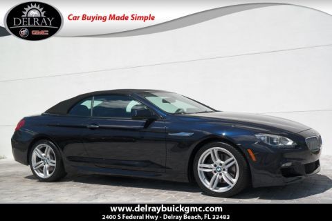 Pre-Owned 2015 BMW 6 Series 650i With Navigation