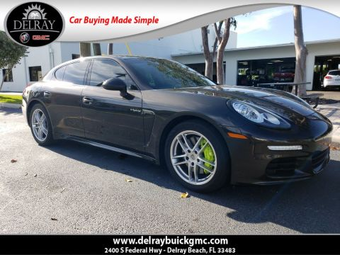 Pre-Owned 2016 Porsche Panamera E-Hybrid S With Navigation